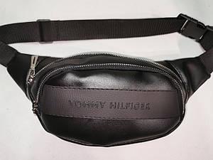 Новый стиль сумка на пояс TOMMY HILFIGERискусств кожа Унисекс женский и мужские пояс Бананка только оптом