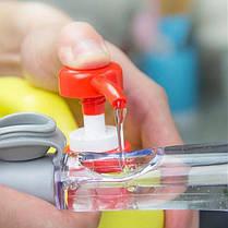 Универсальная щетка для мытья посуды с дозатором моющего средства | Многофункциональная Щетка с дозатором, фото 2
