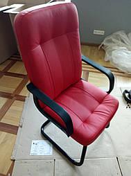 Как собрать офисное кресло на полозьях - пример с этапами работ