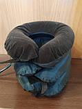 Надувная подушка для шеи Tractors for Cervical Spine с насосом, фото 3