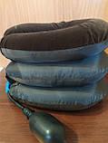 Надувная подушка для шеи Tractors for Cervical Spine с насосом, фото 4