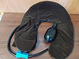 Надувная подушка для шеи Tractors for Cervical Spine с насосом, фото 6