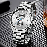 Cheetah Чоловічі годинники Cheetah Mars Silver, фото 3