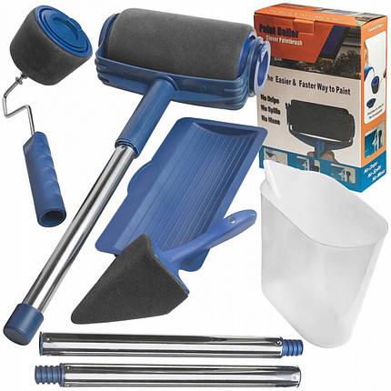 Комплект валиков Paint Roller для покраски помещений и поверхностей с резервуаром для наполнения краски, фото 2