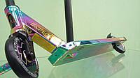 Трюковой самокат Explore Flamina Deluxe 2020 хамелеон