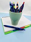 Автоматична ручка масляна Vinson 0,7 мм, синя, фото 2