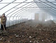 Восстановление грунта после сбора урожая в теплице