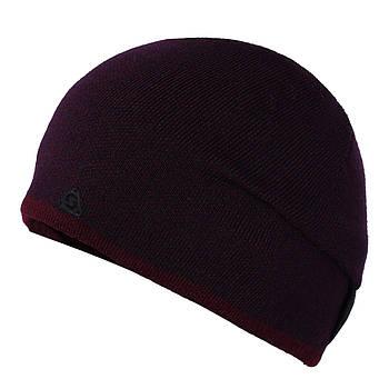 Мужская шапка бордо