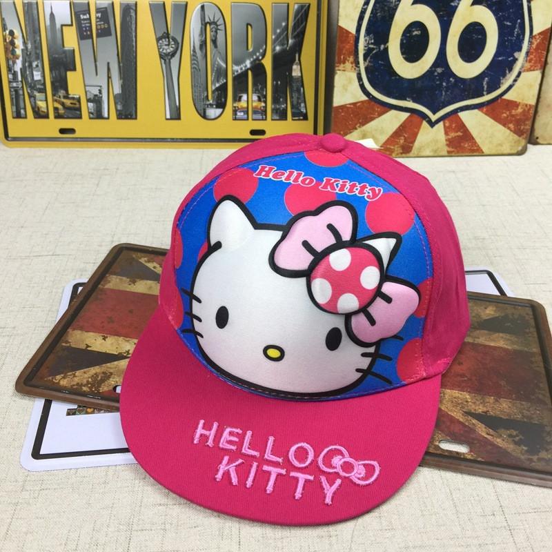 Снепбэк 3D Hello Kitty бейсболка дитяча Кепка панамка шапка головні убори