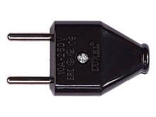 Вилка Luxel плоская без заземления (1106)