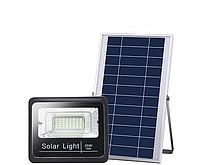 Уличный светодиодный прожектор на солнечной батарее, 25Вт 6500К Sunlight