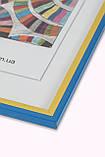 Рамка 30х45 из пластика - Жовто-блакитна, фото 2