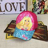 Кепка Barbie детская бейсболка панамка шапка головные уборы, фото 2