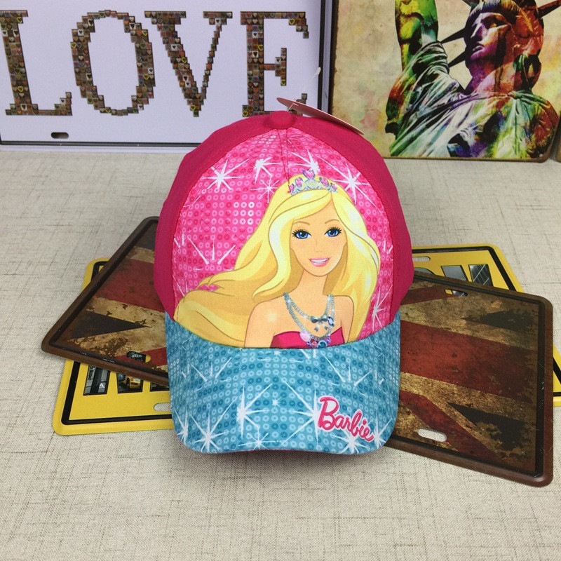Кепка Barbie детская бейсболка панамка шапка головные уборы