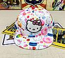 Снепбэк hello kitty детская бейсболка кепка панамка, фото 2