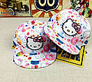 Снепбэк hello kitty детская бейсболка кепка панамка, фото 4