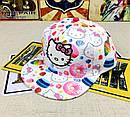Снепбэк hello kitty детская бейсболка кепка панамка, фото 6