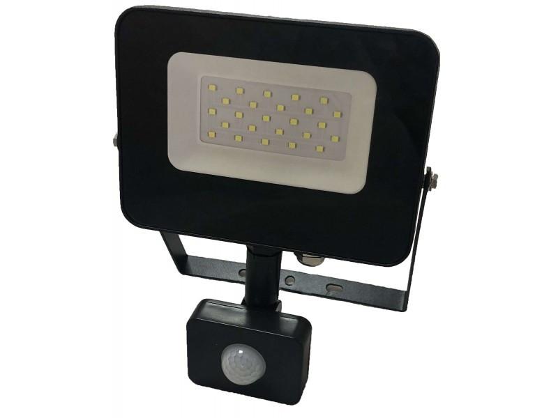Светодиодный прожектор Luxel 220-240V 20W IP65 (LED-LPES-20-C 20W)