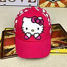 Кепка hello kitty хелло кітті бейсболка дитяча шапка панамка, фото 2