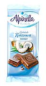 Alpinella шоколад з кокосом, 90г