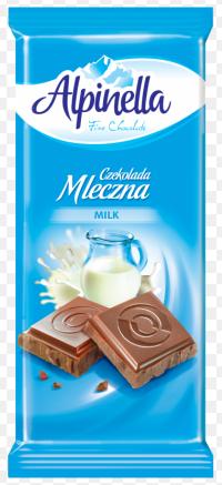 Alpinella шоколад молочний , 90г