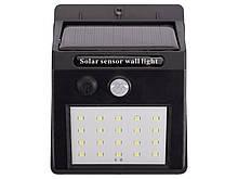 Светодиодный светильник Luxel на солнечных батареях с датчиком движения IP64 10W (SSWl-01C)