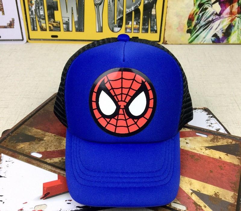 Кепка spidermean спайдермен детская бейсболка панамка шапка человек паук