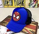 Кепка spidermean спайдермен детская бейсболка панамка шапка человек паук, фото 2