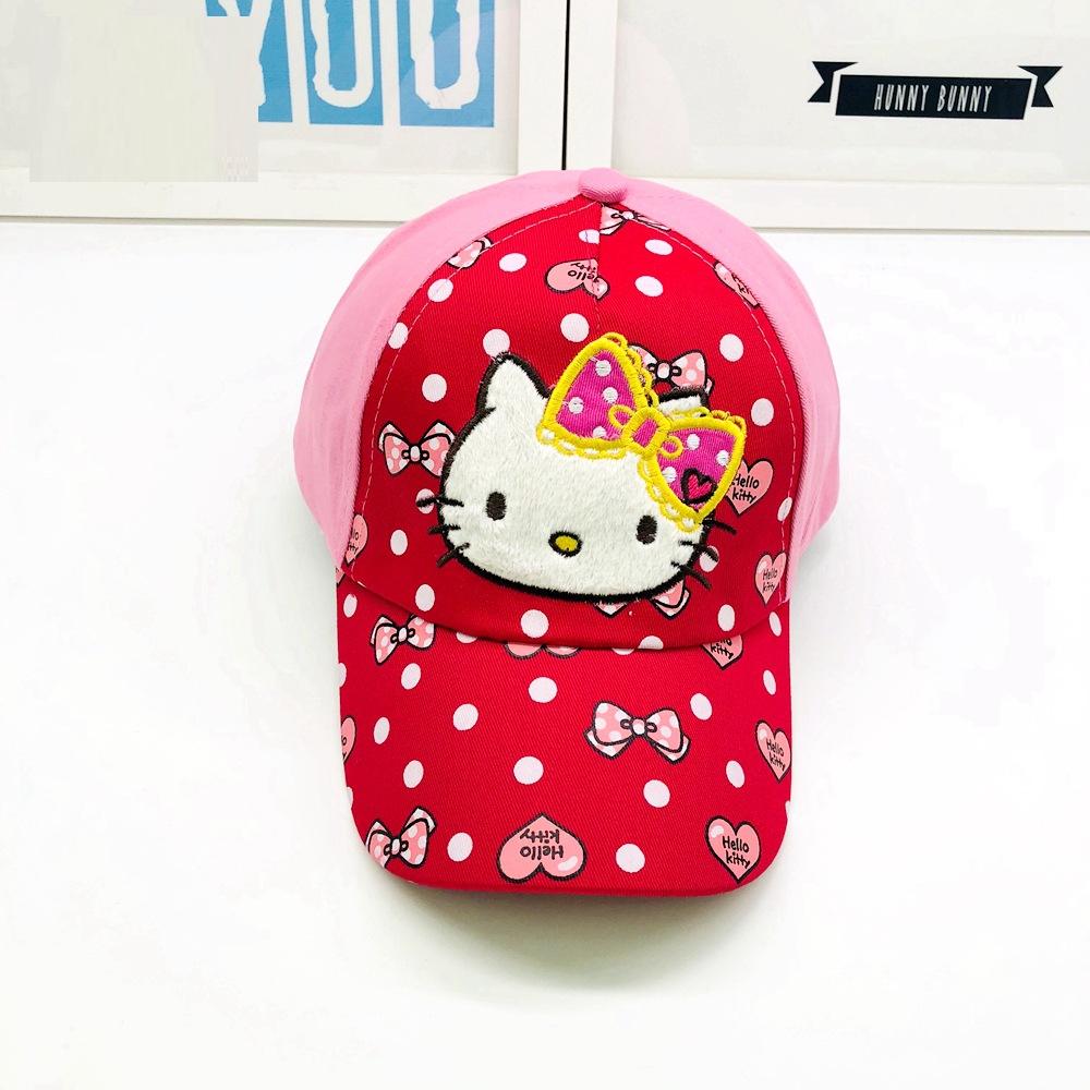 Кепка hello kitty хелло китти детская бейсболка панамка шапка