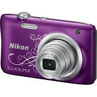 Цифровой фотоаппарат Nikon Coolpix A100 Purple Lineart (VNA974E1)