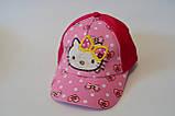 Кепка hello kitty хелло китти детская бейсболка панамка шапка, фото 4