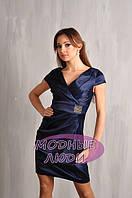 Платье Сабрина FS-17084 (синий) М***, фото 1