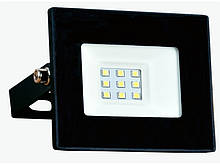 Светодиодный прожектор Luxel 110х90мм 220-240V 10W IP65 (LED-LPM-10С 10W)