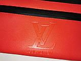 (16*34-мале)Последняя модная унисекс LV сумка на пояс  искусств кожа женский и мужские пояс Бананка оптом, фото 5
