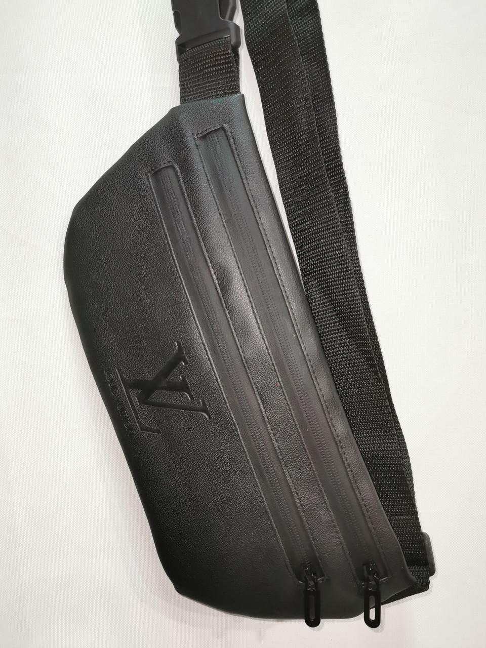 (16*34-мале)Последняя модная унисекс LV сумка на пояс  искусств кожа женский и мужские пояс Бананка оптом