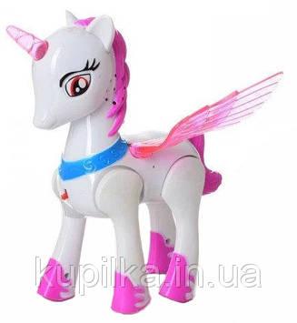 Игрушка Лошадка единорог XG012 My Little Pony с световыми и звуковыми эффектами (2 вида)