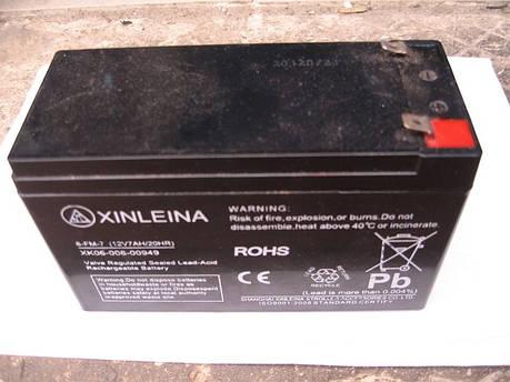 Аккумулятор X-Digital 12V / 12Ah для детских электромобилей, фото 2