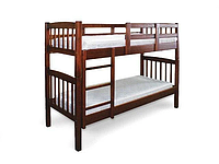 Кровать Бай-бай 80 х 190 см (орех темный)