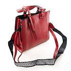 Женская сумка Charles & Keith (25x22*10 см) red, фото 4