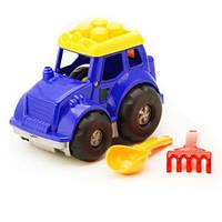 """Трактор """"Кузнечик"""" №1: трактор, лопатка и грабельки (ЛГ3)"""