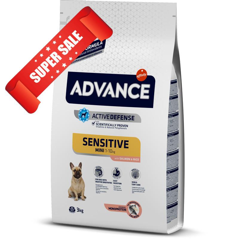 Сухой корм для собак Advance Mini Sensitive 800 г