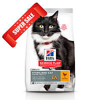 Сухой корм для котов Hill's Science Plan Feline Mature Adult 7+ Sterilised Cat Chicken 3 кг