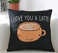 Декоративная подушка (наволочка) Коллекция Love
