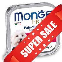 Влажный корм для собак Monge Fresh Pork 100 г