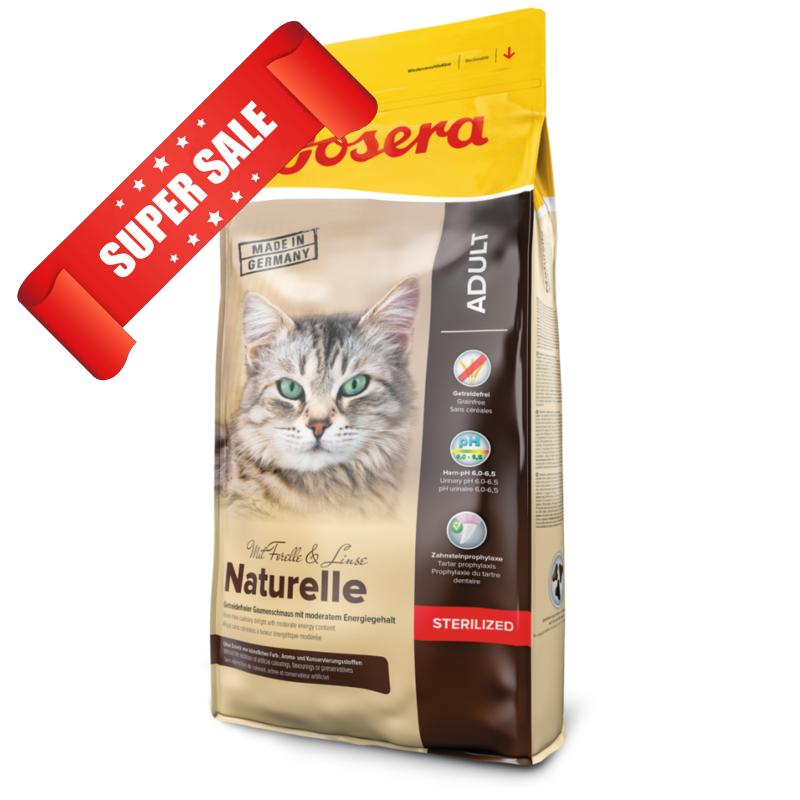 Сухой корм для котов Josera Naturelle Sterilised Adult 400 г