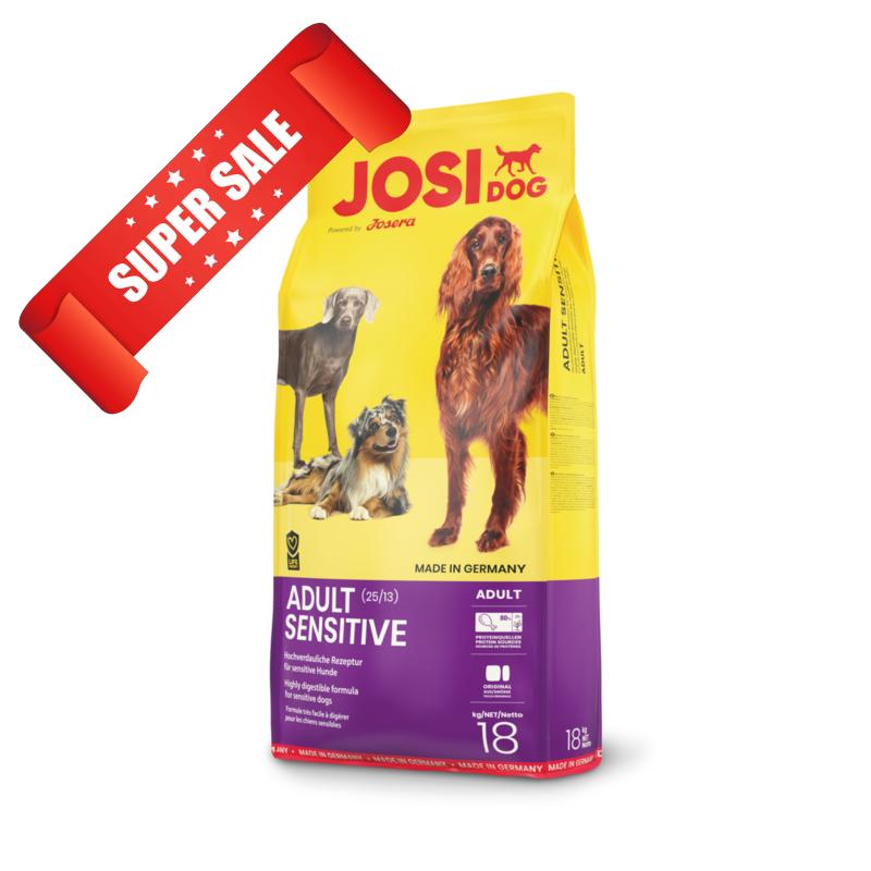 Сухой корм для собак JosiDog Adult Sensitive 4,5 кг
