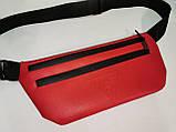 (19*39-большое)Последняя модная унисекс GUESS сумка на пояс искусств кожа женский и мужские Бананка опт, фото 4