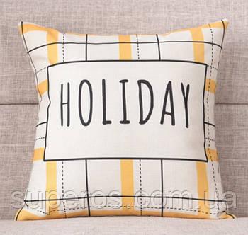 Декоративна подушка (наволочка) Колекція Holiday