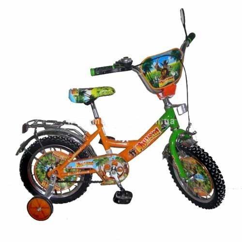 "Велосипед детский 12""  Мадагаскар."
