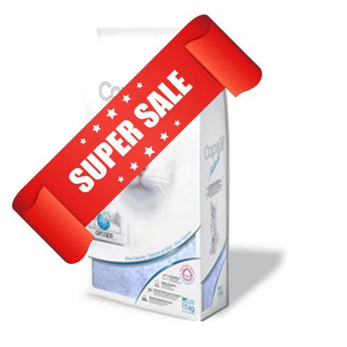 Кварцевый наполнитель для кошачьего туалета Capsull Delicate 1,5 кг